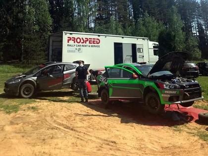 'Prospeed' komanda Remeņika ekipāžai nedēļas laikā atjauno automašīnu