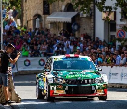 Sesks izcīna 8.vietu Romas ERČ rallijā, Lukjaņukam sods un 4.vieta