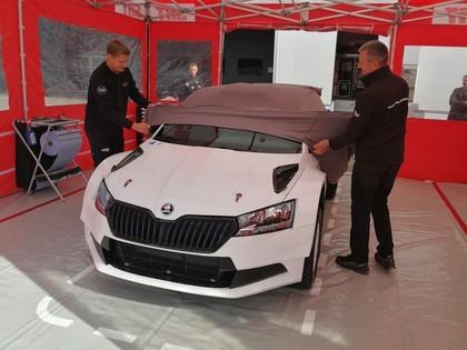 SRT komanda prezentē jauno 'Škoda Fabia R5 Evo' (FOTO)