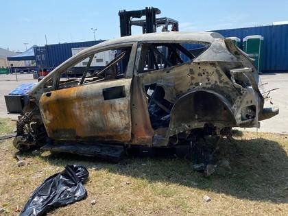 M-Sport: Lapi automašīnas degšanas cēloni, visticamāk, neuzzināsim