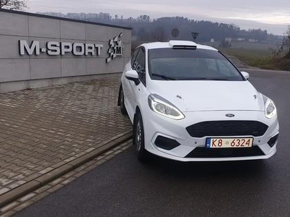 Baltic Motorsport Promotion no M-Sport iegādājas jauno 'Ford Fiesta R2T' (FOTO)