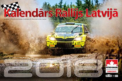 Jaunais Kalendārs Rallijs Latvijā 2018 ir klāt