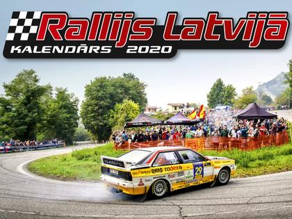 Iznācis Kalendārs Rallijs Latvijā 2020. gadam