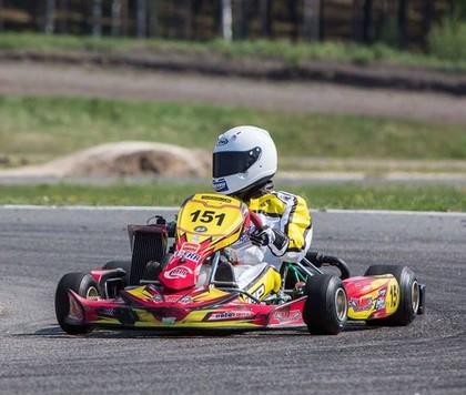 Gustavs Māliņš pārstāvēs Latviju CIK FIA 'Academy Tropy' kartinga sacensībās Beļģijā