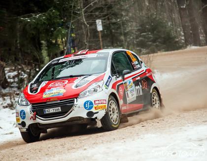 Sesks: 'Rally Alūksne' nebraucām ar maksimālo ātrumu