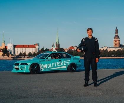 Divi latviešu sportisti kopā ar Solbergiem, Bloku un Bakerudu sāk cīņas 'Gymkhana grid'