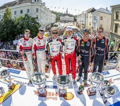 'Rally Estonia' uz starta izies 105 ekipāžas no 16 dažādām valstīm
