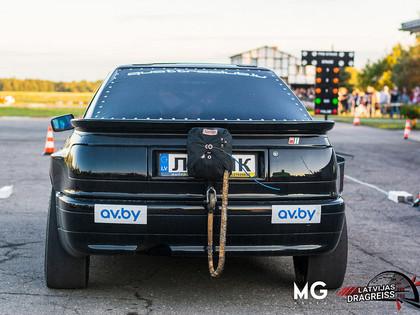 Jelgavā plaši apmeklēts dragreisa treniņš un auto audio sacensības