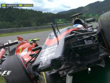 Austrijas GP uzvar Rosbergs, Raikonenam un Alonso iespaidīga avārija (FOTO)