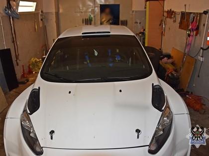 Izdodas atrast nozagto 'Ford Fiesta R5'' auto