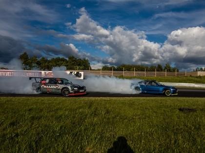 Baltijas drifta čempionātā smagas avārijas un igauņa uzvara (FOTO)