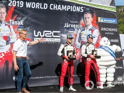 Vatanens: Tanakam šis bija garš un bedrains brauciens no Sāremā salas līdz WRC virsotnei
