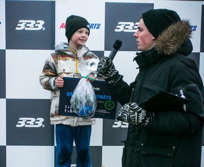 '333 Ziemas kausa' 4.posmā sensāciju sarūpē deviņgadīgais Tomass Štolcermanis