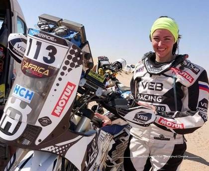 'Africa Race' 7.posmā OSCar ekipāžai 3.vieta, motociklu klasē pārsteidz krievu sportiste