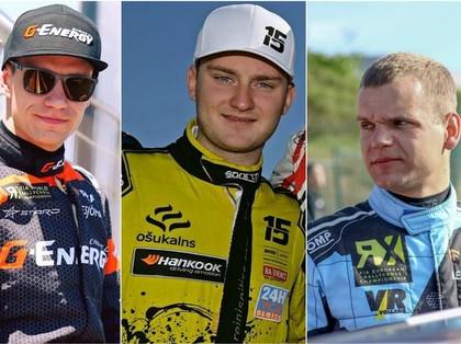 Pasaules un Eiropas RX čempionātos katrā klasē būs pa latviešu braucējam