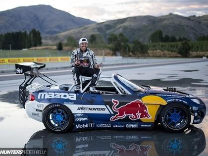 'Mad Mike' atrāda savu vairāk nekā 1000 Zs jaudīgo 'Mazda MX-5' (FOTO)