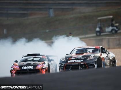 Pārsteigumiem bagātajā 'Formula Drift' otrajā posmā uzvar lietuvietis