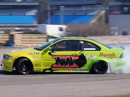 Drifta kausā uz starta izies 500 Zs jaudīgs BMW ar iesauku 'Vīruss' (FOTO)