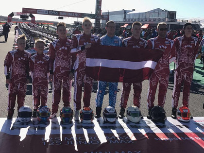 Steinerts 'Rotax Max Challenge' kartinga finālā devītais, Zviedrim risks šoreiz neattaisnojas