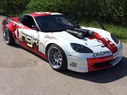 'HGK Motorsport' krievu sportistam uzbūvē 800 Zs jaudīgu 'Corvette' (FOTO)