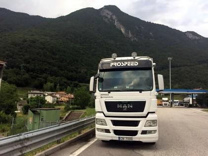 Prospeed komanda dodas iekarot Eiropu